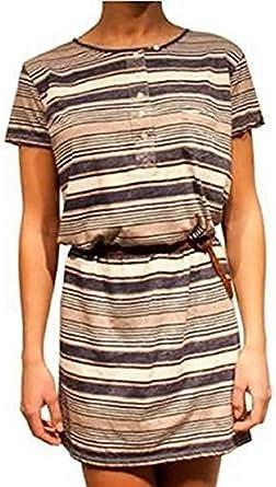 Vestido camisa vestido Trancos de KUYICHI en marino: Amazon ...