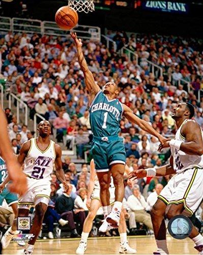 Muggsy Bogues Charlotte Hornets NBA Action Photo (Size: 8