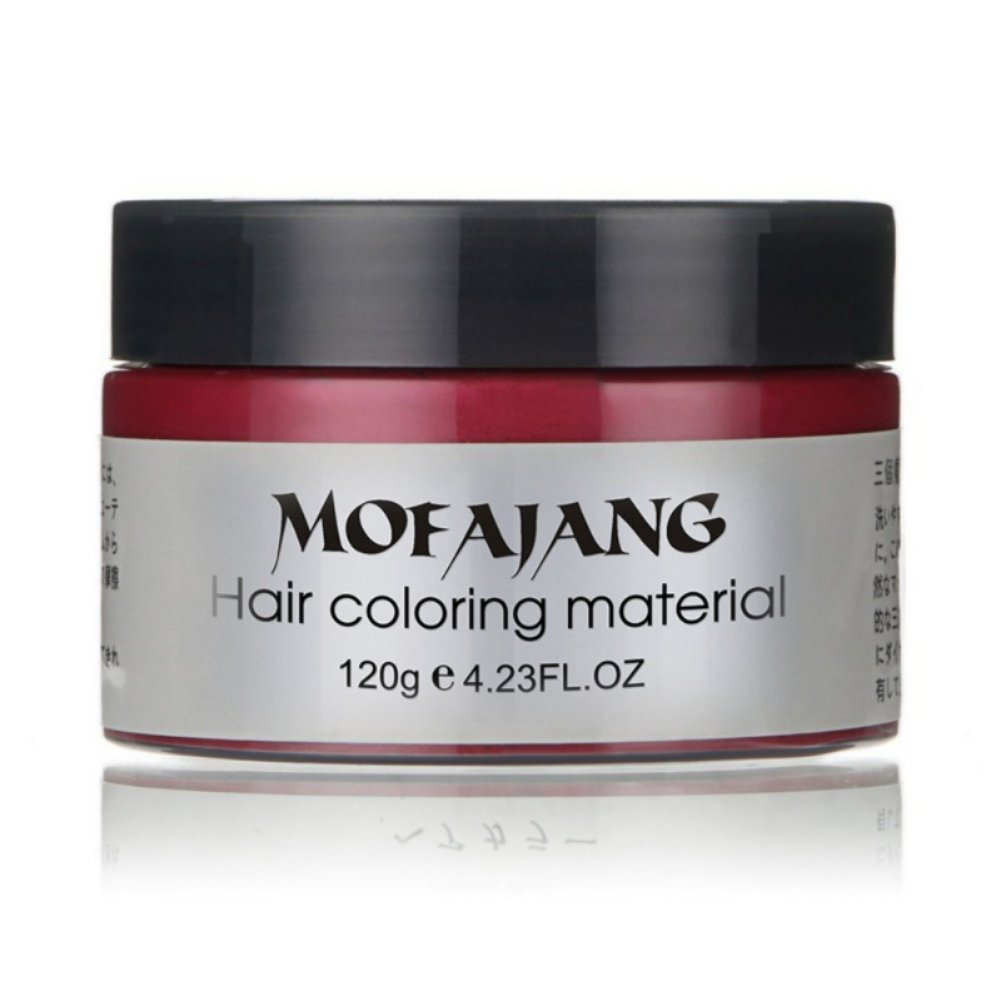 KISSION Professional and Fast Wax Hair Color Wax Dye Grandma Gray Hair Dye Wax From Japan imports