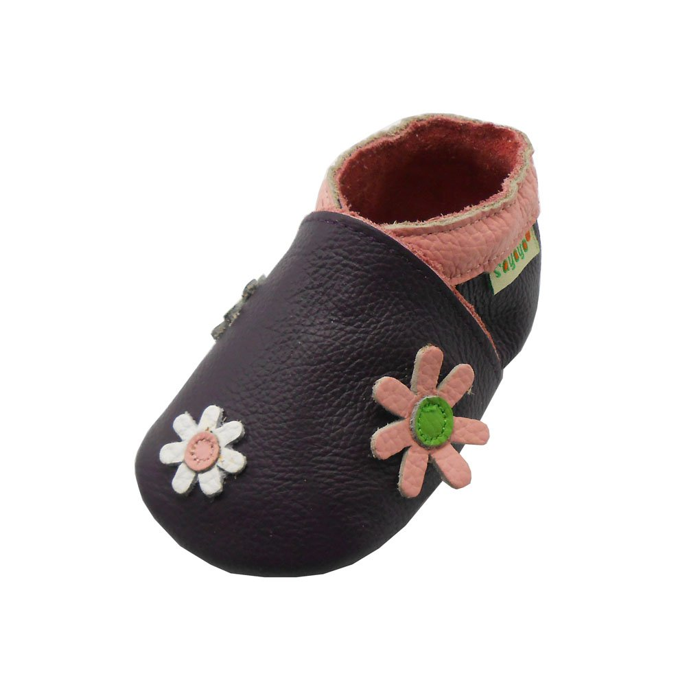 SAYOYO Baby Owl Soft Sole Leather Infant Toddler Prewalker Shoes