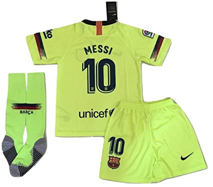 more photos ea9a3 adb46 Amazon.com : AllStarA 2018-2019 Messi #10 New FC Barcelona ...
