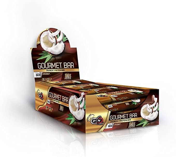 Pure Nutrition Gourmet bares 60 gramos Great Tasting proteína ...