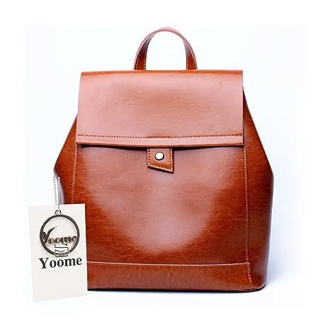 Yoome YooSJB0129 - Bolso mochila para mujer Marrón marrón, marrón (Marrón) - YooSJB0129