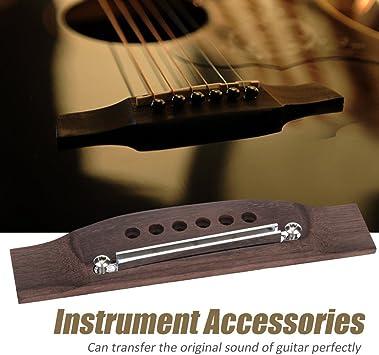 Holz Gitarren BrüCke 12 Saiter Palisander Akustik Gitarren BrüCke Sattel I4I4