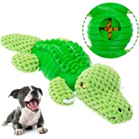 KOOLTAIL Interactive Dog Toys Food Dispensing Plush Dog Chew Toy with Squeaker Non-Toxic Elasticity Cute Shapes for…