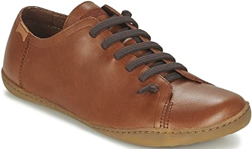 Camper Peu Cami 17665 Tan Mens Leather Lo Trainers Shoes | eBay