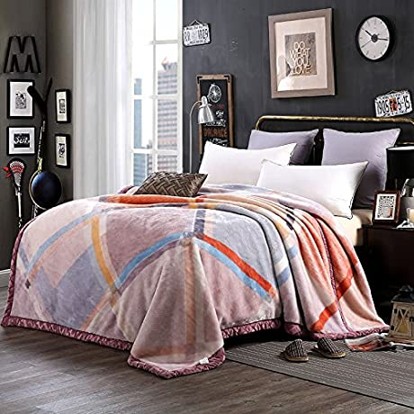 Znzbzt Autumn And Winter Thick Warm Blanket Blanket Blanket Comfortable All Seasons Available Winter Coral Fleece Blanket 200x230cm7 Catty Down Fischer And Jy Extraordinary Style