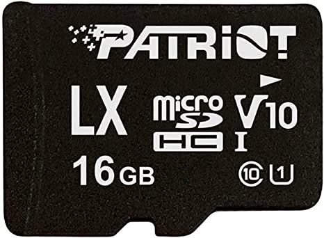 Patriot Memory PSF16GLX1MCH 16 GB LX V10 Tarjeta Micro SD SDHC por ...