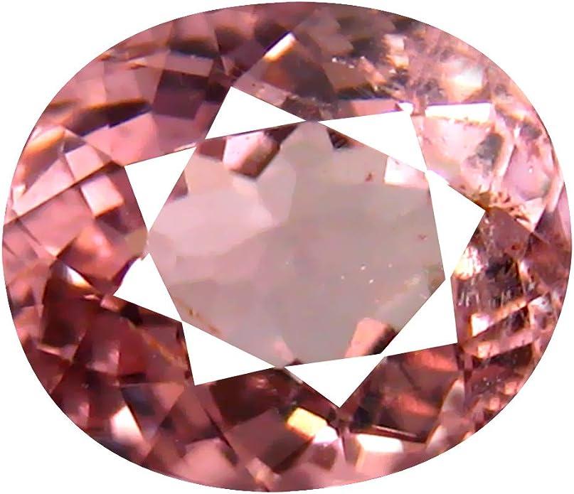 10 x 8 mm UnheatedUntreated Pink Sapphire Natural Genuine Loose Gemstone 2.62 ct Oval Cut