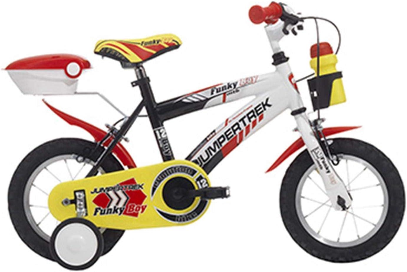 Bicicleta infantil 12 JumpERTREK FUNKY de acero GARCON NEGRO
