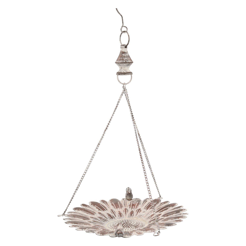 Vogeltränke zum hängen Futterstelle aus Eisen für Vögel mit 2 Vögeln ...