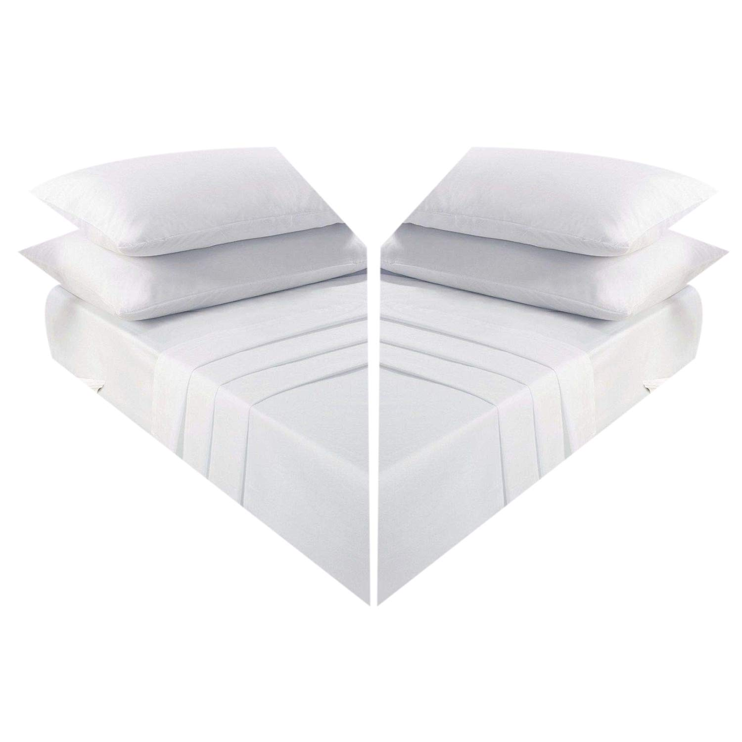 Fitted Bed Sheet Poly Cotton White Bunk Beds Sheet Cotton Bunk Bed Fitted Sheets