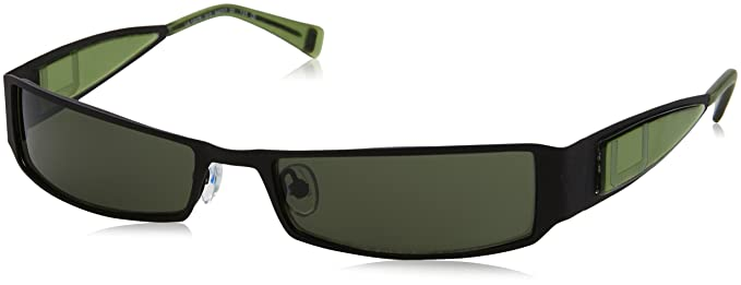 Adolfo Dominguez Ua-15079-313 Gafas de Sol, Negro/Verde, 54 ...