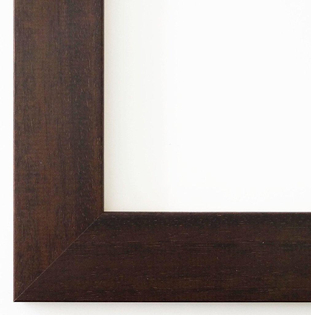 Bilderrahmen Florenz Braun 4,0 - LR - 60 x 80 cm - 500 Varianten - Alle Größen - Handgefertigt - Galerie-Qualität - Antik, Barock - Fotorahmen Urkundenrahmen Posterrahmen