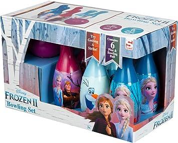 Disney Frozen 2 Juego de Bolos para Niños con Anna y Elsa, Juegos ...