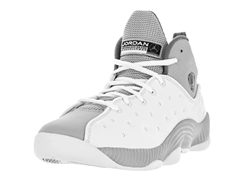 336dbb0c7163 Nike Jordan Men s Jordan Jumpman Team II White Black Wolf Grey Cl Grey  Basketball Shoe