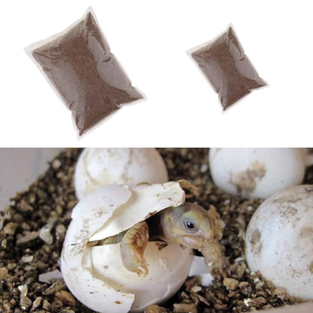 2L B Blesiya Pet Reptiles Vermiculite Substrate Bedding for Lizards Gecko Tortoises Pet Terrarium Amphibians Bedding Accessories