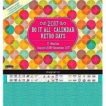 2017 Retro Days Do It All Wall Calendar