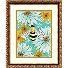 Framed Art Print 'Nectar Collector I' by Kate Birch