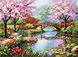 #8: Dimensions Gold Collection Japanese Garden Counted Cross Stitch Kit, 16