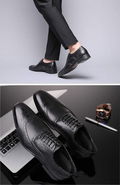 Rojeam Chaussures Formelles /à Lacets pour Hommes pour Chaussures de Bureau