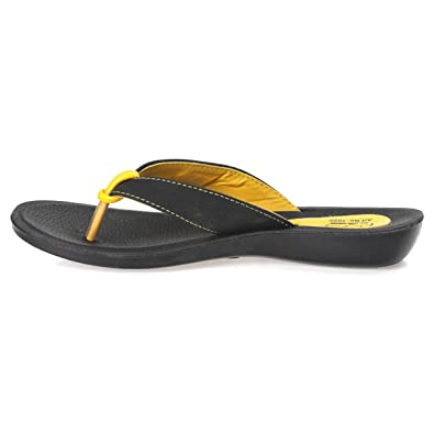 1f6b1fbe0 PARAGON SOLEA Women s Yellow Flip-Flops  Buy Online at Low Prices in India  - Amazon.in