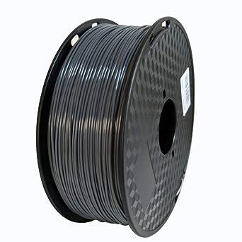 Filamento para impresora 3D de 1,75 mm, filamento ABS gris ...