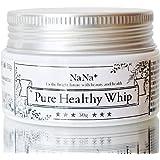 nana+ 生せっけん Pure Healthy Whip 肌に優しい 無添加 洗顔石鹸 毛穴 くすみ 黒ずみ ケア 敏感肌 乾燥肌 の人も使える