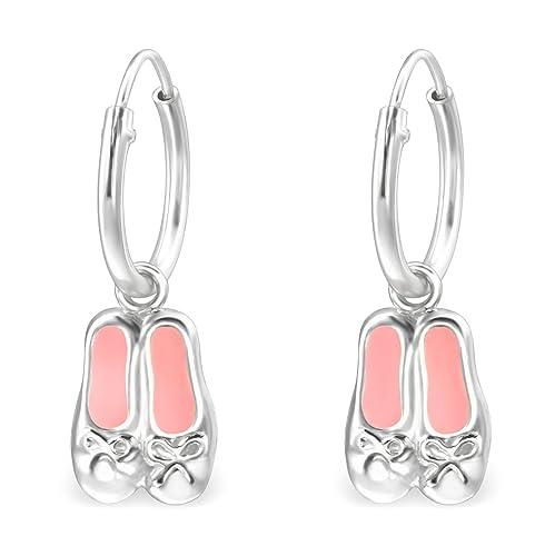 Amazon.com: Best Wing Jewelry – Pendientes de plata de ley ...