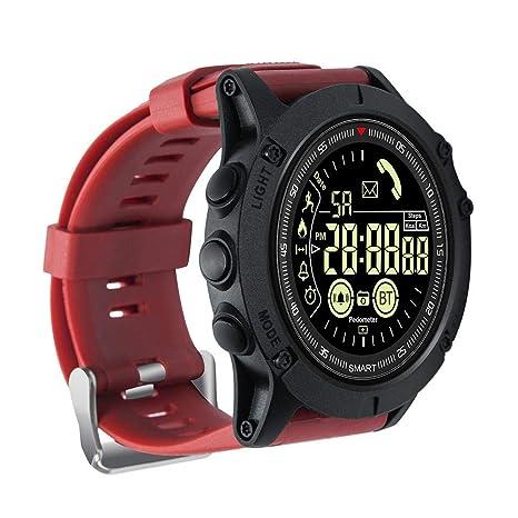KiGoing Reloj Multifuncional para Hombres, Estilo Deportivo, Estilo Militar, Reloj Digital de Moda