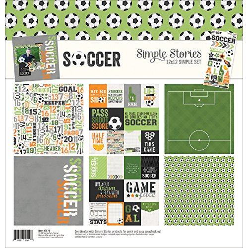 Simple Stories Soccer 12x12 Collection Kit