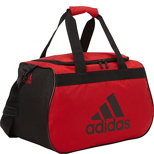 Adidas Diablo Small Duffel Limited Edition Colors- Exclusive (University Red /