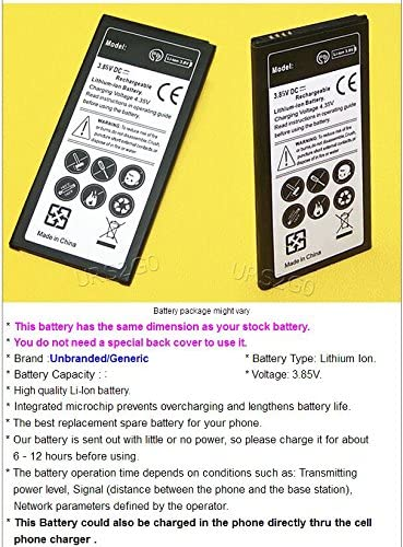 3700mAh Spare Rechargeable Li-ion Battery Multi Function Travel Charger for Cricket Samsung Galaxy Halo SM-J727A Phone High Power Samsung Galaxy Halo Battery kit 2Battery + 1Charger