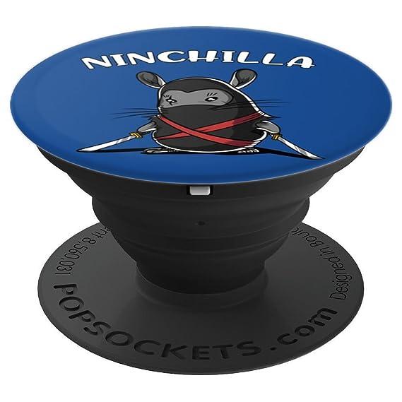 Amazon.com: Funny Chinchilla Ninja Ninchilla Samurai Pet ...