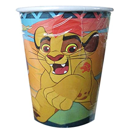 Amazon.com: The Lion Guardia 9oz – Vasos de papel (8ct ...
