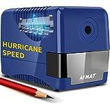 Electric Pencil Sharpener Heavy Duty, Pencil Sharpener Plug In, Auto Stop Classroom Pencil Sharpener, 10000 Times Sharpening