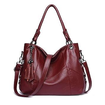 4e67c605159a Amazon.com: LAOMAUTO Handbag Shoulder Bags for Women Large Ladies ...