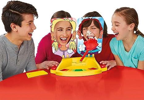 Witspace-Toys and Games Funny Hit Face Juego de Mesa de Fiesta Gadget Sproof Pie Crema en la Cara Amigos Familia Juegos Juguetes: Amazon.es: Deportes y aire libre