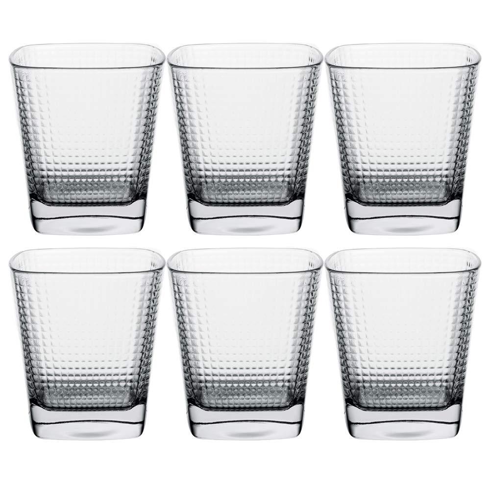タンブラー ドリンクグラス 水/飲み物/カクテル用 10.5オンス 6個セット B07MQBVG16