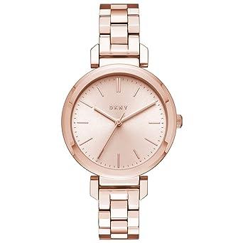 DKNY Reloj Analogico para Mujer de Cuarzo con Correa en Acero Inoxidable NY2584: Amazon.es: Relojes