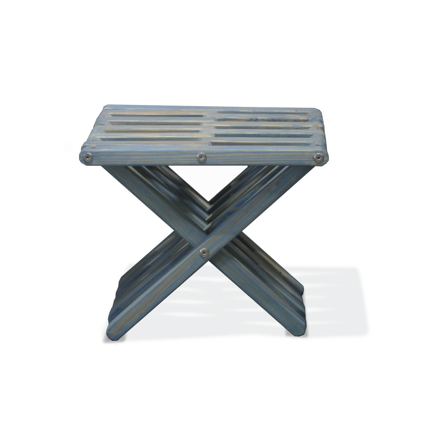 GloDea X30 Stool, Sky Blue, Natural