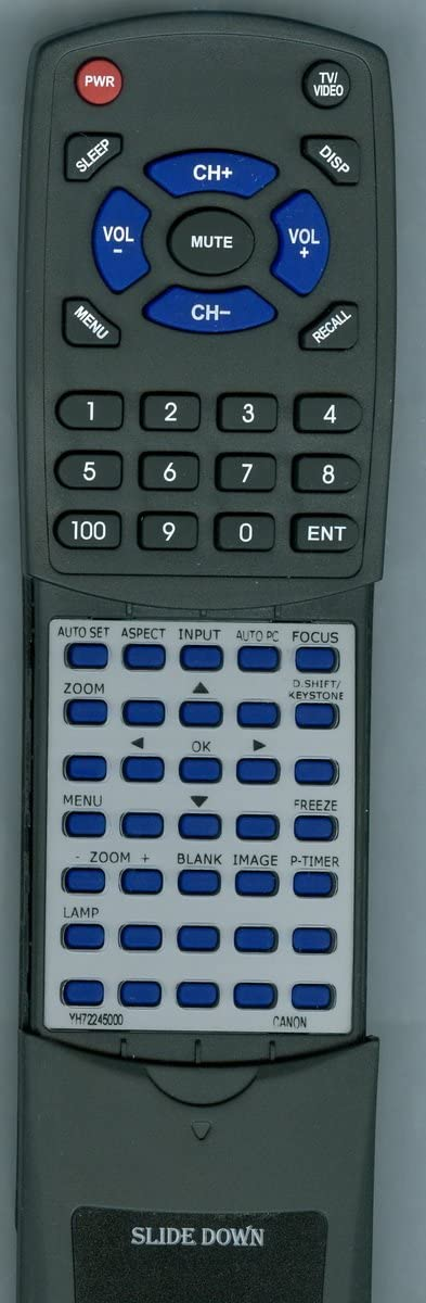 WUX10 Mark II D Replacement Remote Control for Canon SX80 Mark II SX80 Mark II D