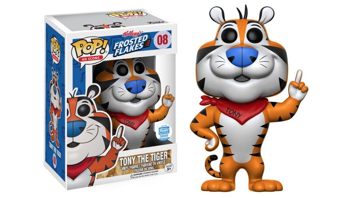 amazon funko pop adアイコン 08 frosted flakes tony the tiger le