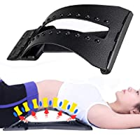 Magic Back Stretcher Lumbar Support Device - Back Pain Relief - 4 Adjustable Settings...