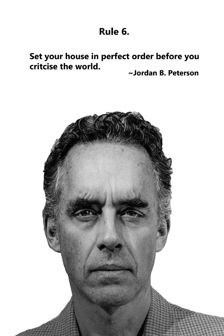 Arne Uccidere montanaro  Jordan Peterson: 12 Rules for Life Journal - Rule 6: Composition Notebook,  Ruled, Blank Lined Journal, Diary: Publisihng, MasterClass: 9781695997745:  Books - Amazon.ca