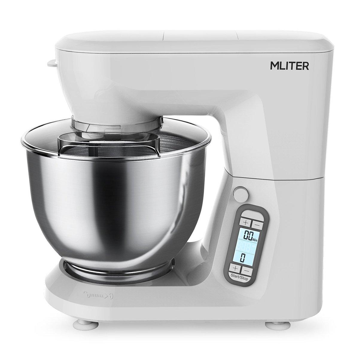 Amazon.de: MLITER Küchenmaschine 1500W Knetmaschine mit 6.0L ...