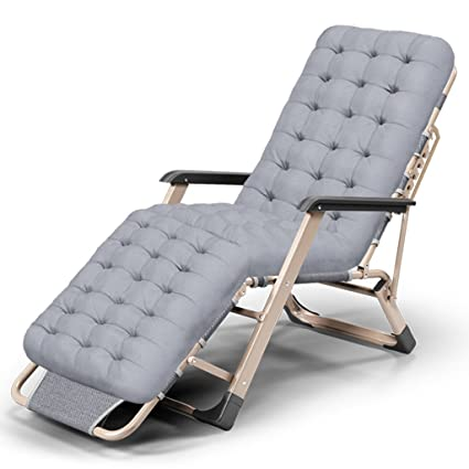 Amazon.com : Zcxbhd Lawn Chairs Reclining with Cup Holders and ...