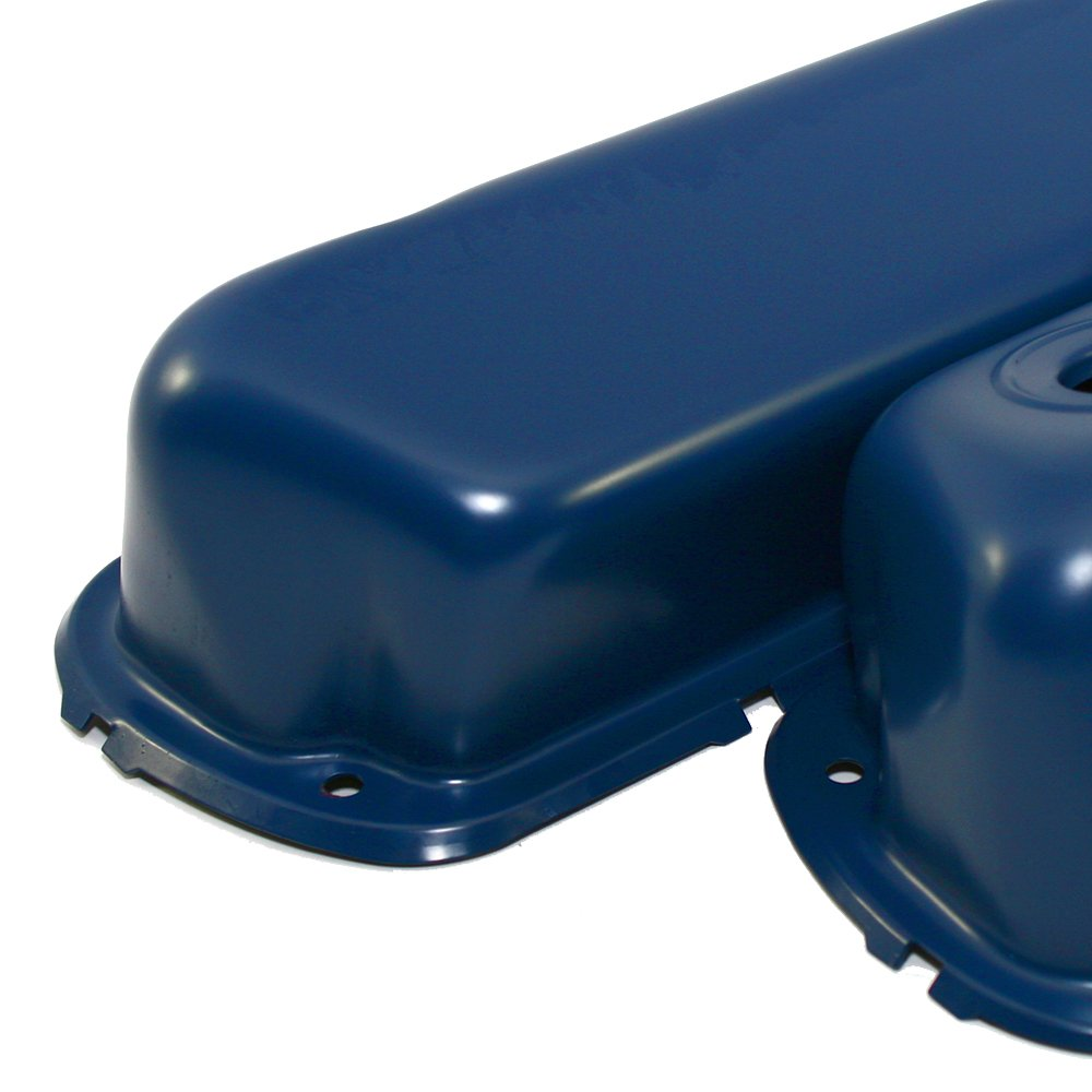 Assault Racing Products A9237BL for Small Block Ford Dark Blue Steel Valve Covers SBF 260 289 302 351W