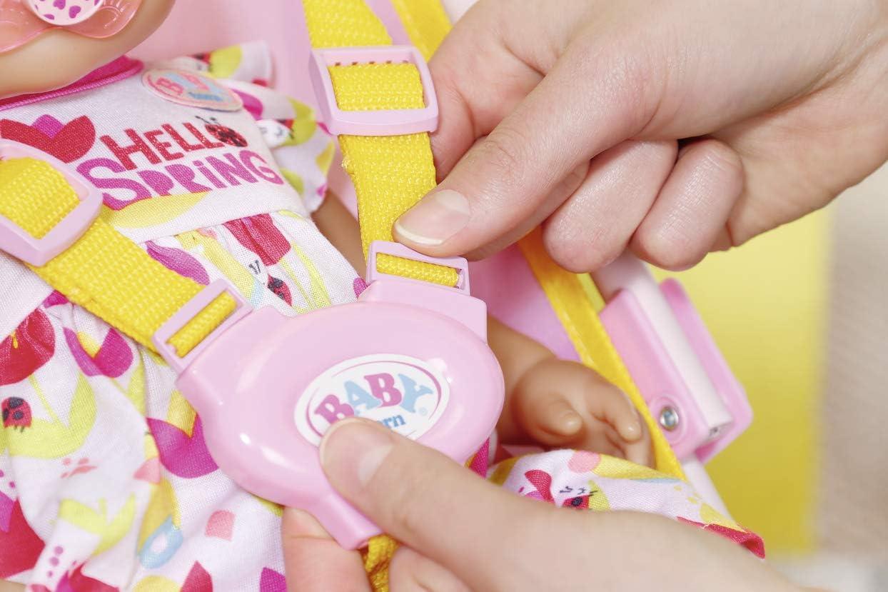 Zapf Creation-Passeggino Baby con Borsa 828663 BABY born