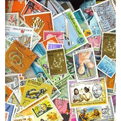 500 Worldwide All Different stamps: Toys & Games